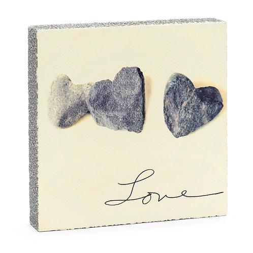 Love Stones Art Block