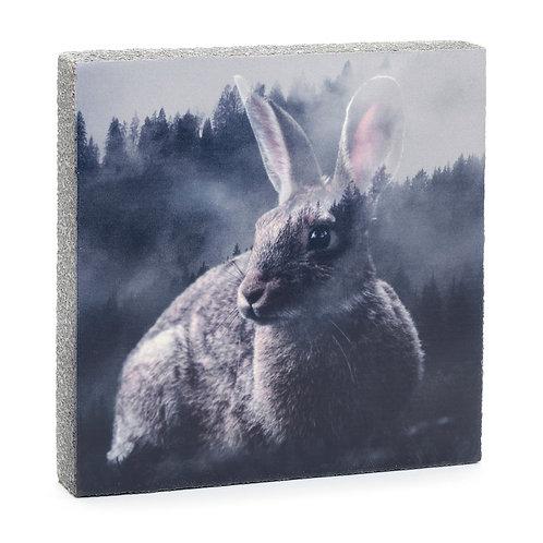 Forest Bunny Art Block