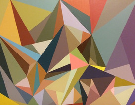 Muted Triangles (SOLD)