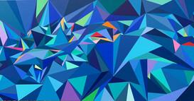 Bleu Deux (SOLD - Commission)