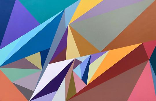 Bright Triangles (SOLD)