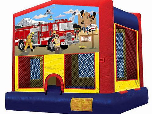 fireman firefighter jumper bounce house