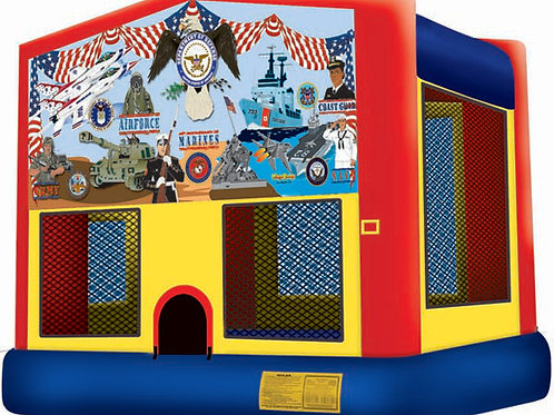 us military army navy air force marines jumper bounce house
