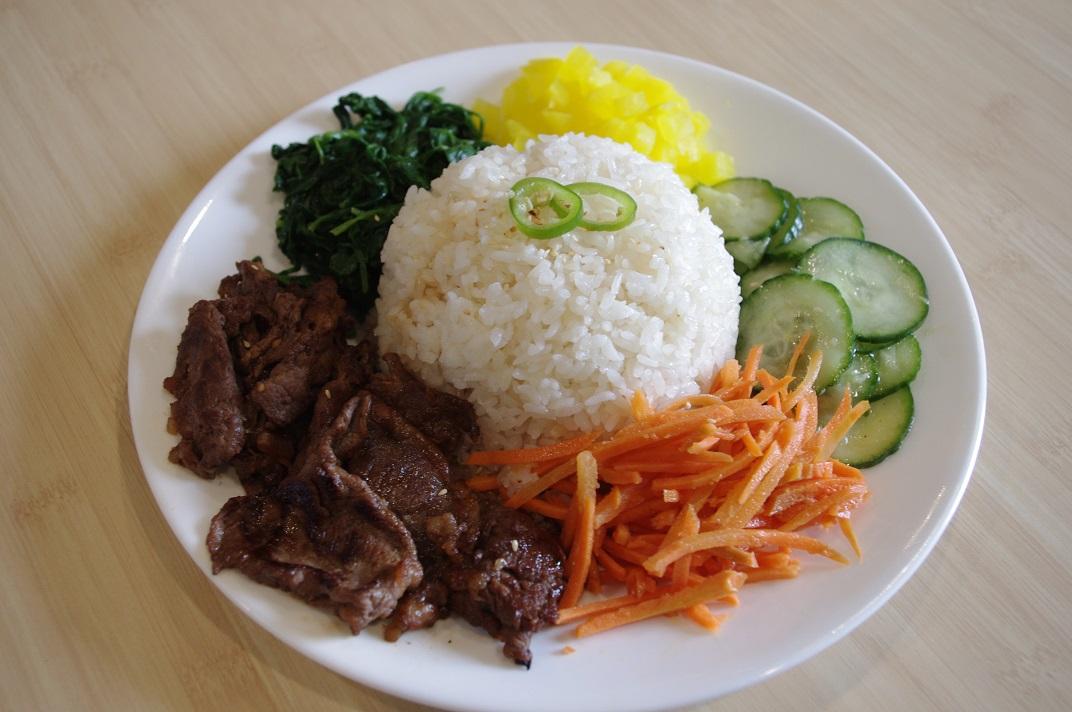 Bulgogi Beef Plate