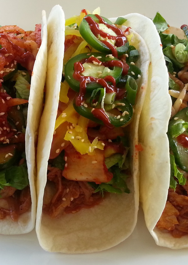 Spicy Pork Taco Trio