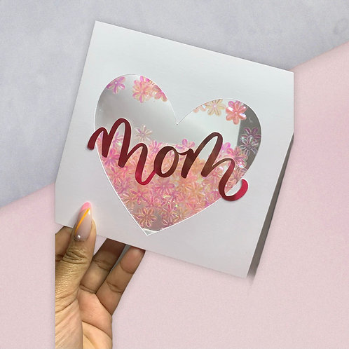 I ❤️ You MOM | HANDMADE Mother's Day Card