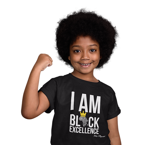 I AM BLACK EXCELLENCE | KIDS T-shirt