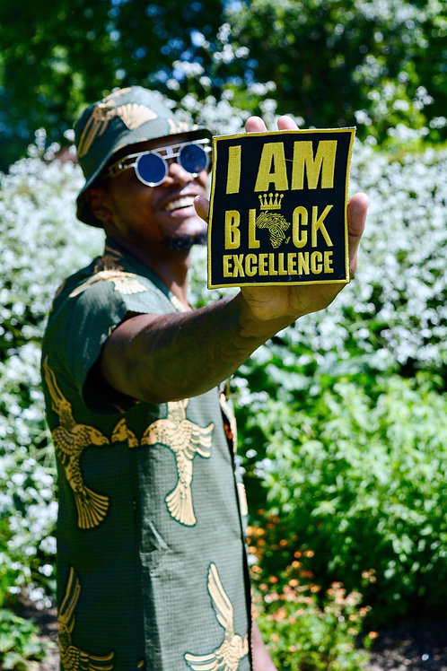 I AM BLACK EXCELLENCE | Iron On Patch