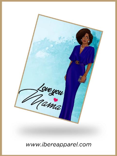 Love you MAMA |  Greeting Card