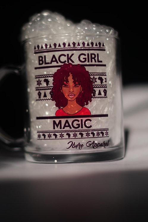 BLACK GIRL MAGIC-ZAKIYYAH   GLASS MUG