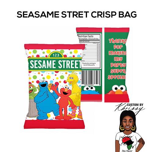 Custom Sesame Street Crisp Bag