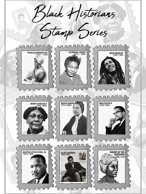 Black Historians Stamp Series