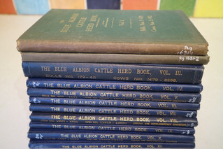New old herd books!
