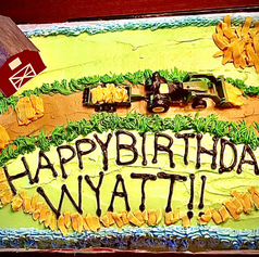 9x13 Vanilla Birthday Cake