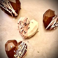 Heart-Shaped Hot Chocolate Bombs