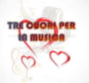 Logo Associazione Tre Cuori per la Music