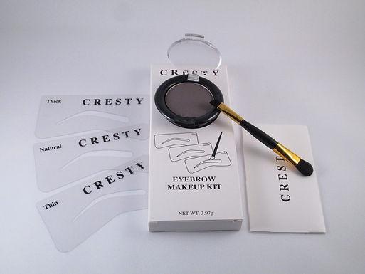 Cresty Øyebryns Farge