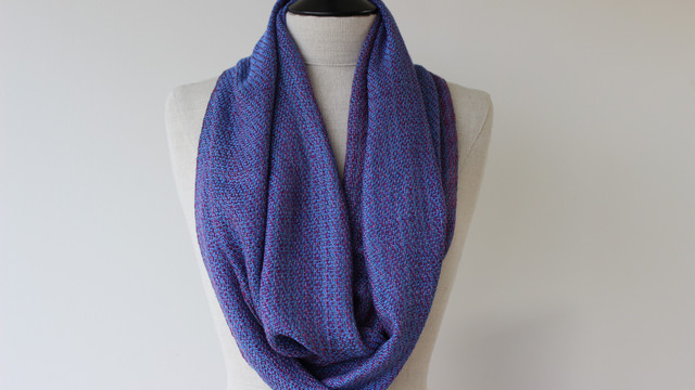 Scottish Skies (Infinity scarves)