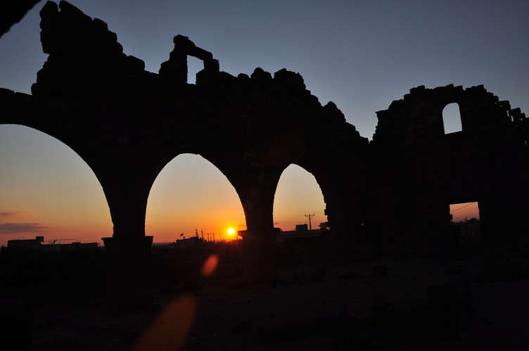UJ sunset arches.JPG