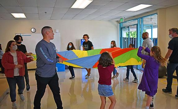 BDS Teachers + Students Parachut Game 2