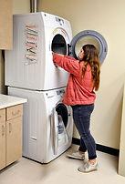 girl doing laundry-BDS