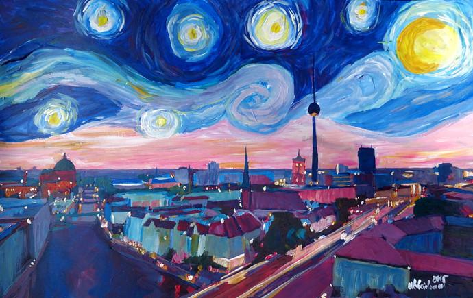 Starry Night in Berlin - Van Gogh Inspirations in Germany kl.JPG