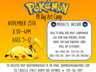 Pokemon PD Day Art Camp