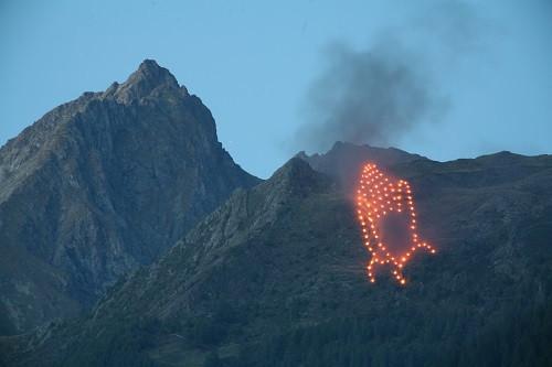 Bergbeleuchtung