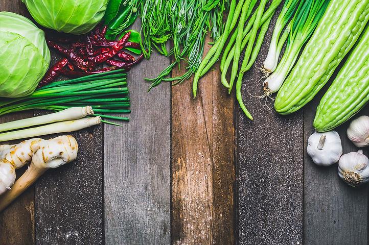 Vegetables Fresh Vegetables Colorful Bac