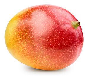 Mango isolated on white background. Mang