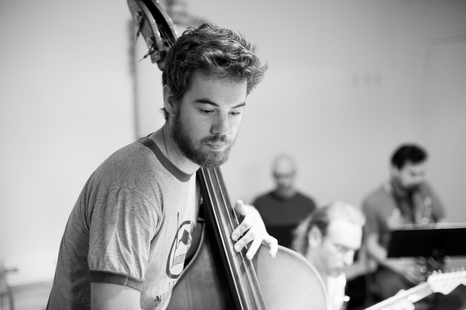James on the bass