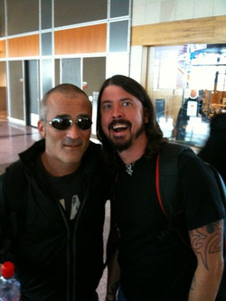 Tor and Dave Grohl