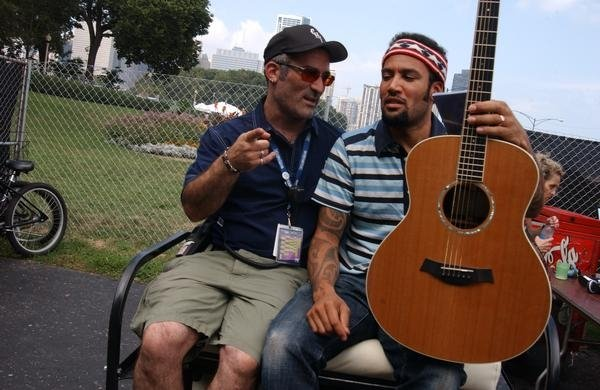 Tor and Ben Harper