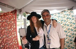 Tor and Patti Smith