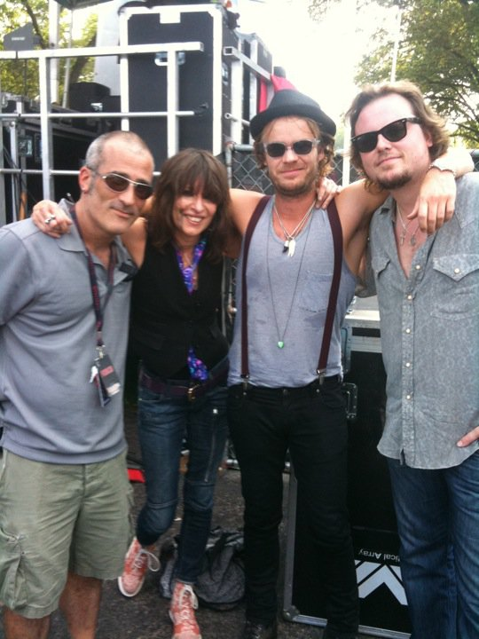 Tor, Chrissy Hydne and band