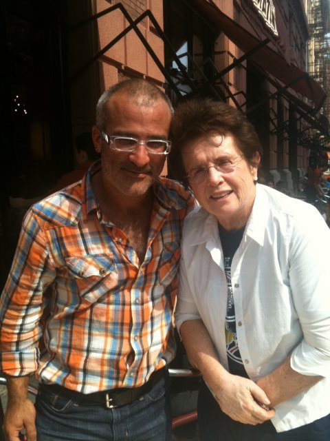 Tor and Billie Jean King