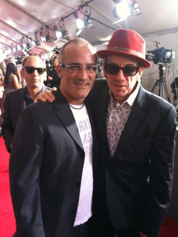 Tor and Elvis Costello