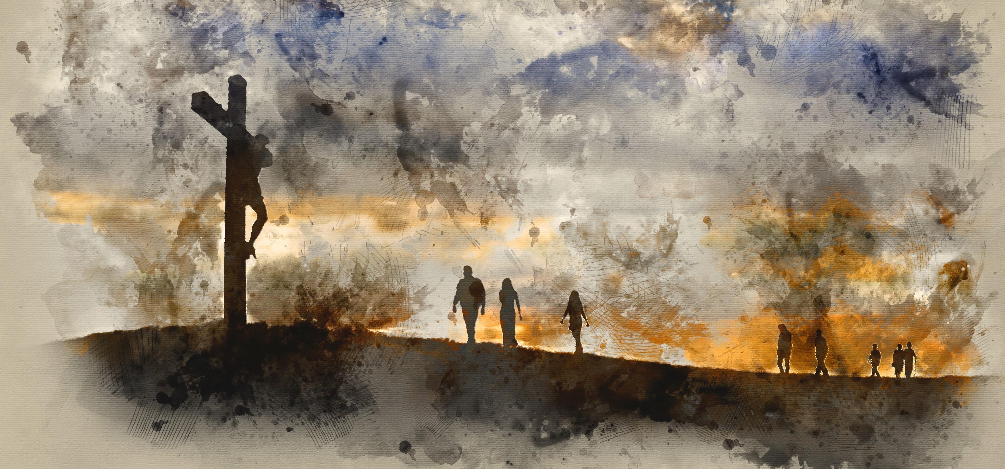 Walking to Jesus (2)