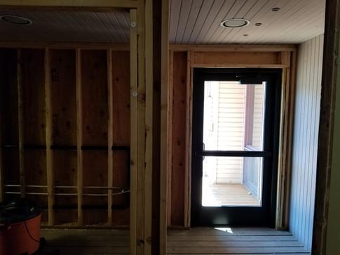 2020-06-26 New Door Facing the Porch Bat
