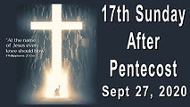 2020-09-27 17th Sunday after Pentecost.j