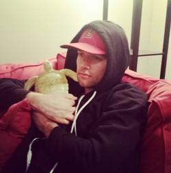 Jeff loves turtles