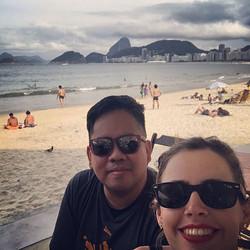 vacation at Copacobana Beach