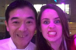 with The Man... Sushi Toshi
