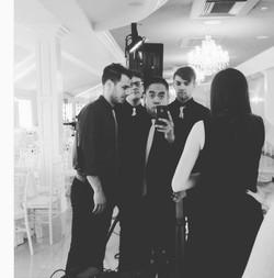 before Alison and Dan's wedding