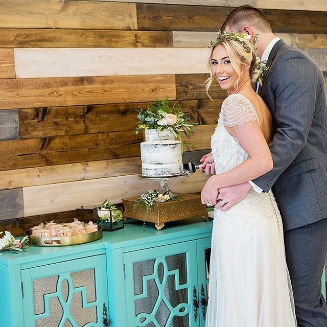 I hardly ever get to see the cake cut, so I love getting shots like this! Planning, Styling, and Pho