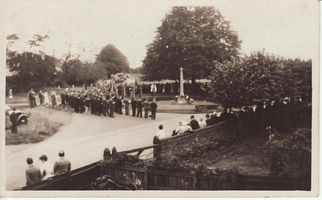 British Legion ceremony Meopham wa