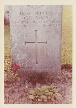 Gravestone for Clifford Herbert Amos