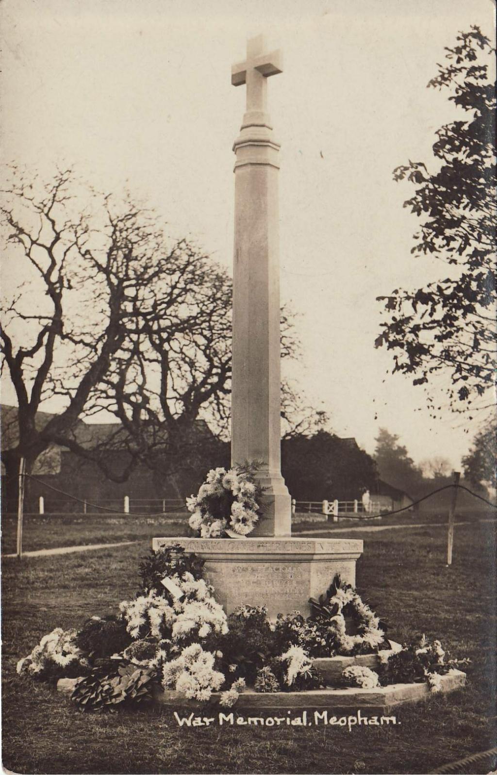 Meopham war memorial