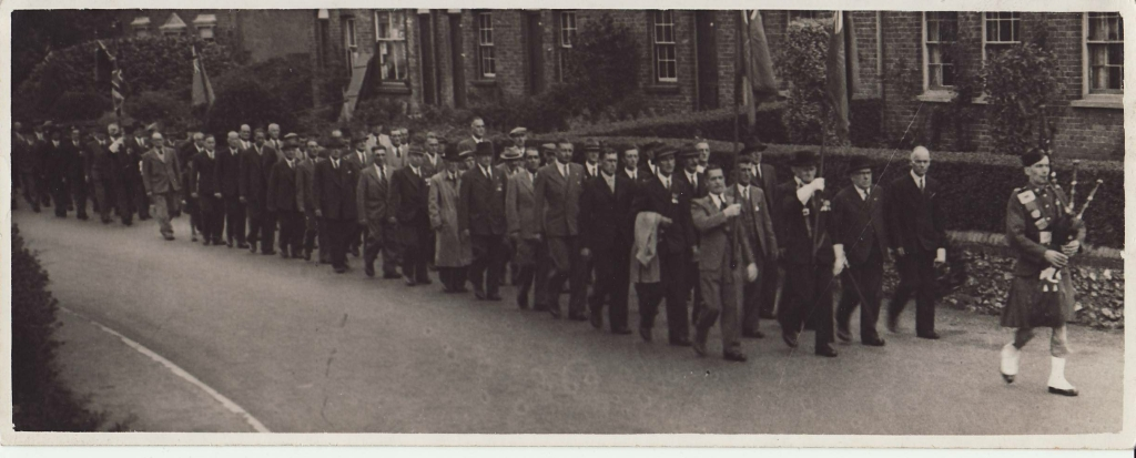 British Legion march 1940s