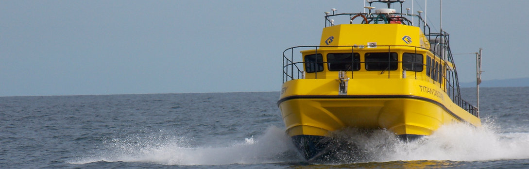Titan Discovery Coastal Nearshore Environmental Survey Specialist Vessel